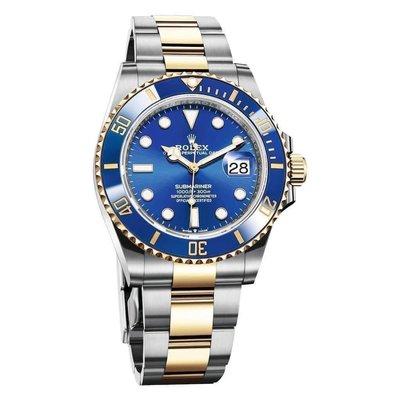 【玩錶交流】全新品 ROLEX 126613 LB Submariner 半金藍水鬼 41mm 2021/9月保卡