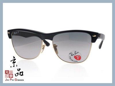 【RAYBAN】RB4175 877/M3 黑 金框 偏光漸層灰色鏡片 雷朋太陽眼鏡 公司貨 JPG 京品眼鏡