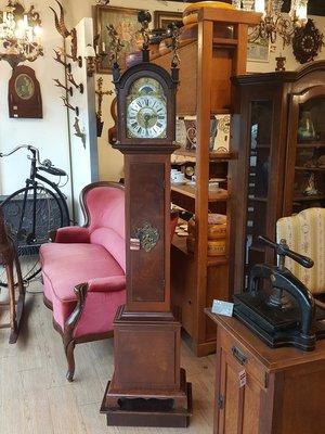 【卡卡頌 歐洲跳蚤市場/歐洲古董】歐洲古董_落地鐘 立鐘 古董鐘 cl0021✬