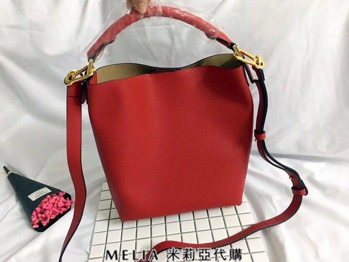 Melia 米莉亞代購 專售正品 2018ss 羅意威 LOEWE 購物包 斜背包 水桶包 單肩包 紅色