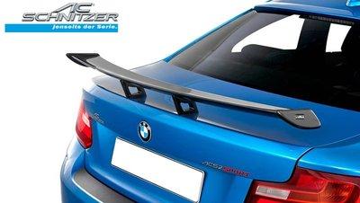 【樂駒】AC Schnitzer BMW M2 M2C carbon 碳纖維 後擾流 立式 尾翼 空力