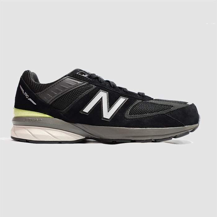 【QUEST】NEW BALANCE 990V5 D 黑銀 黑灰  反光 麂皮 慢跑鞋 大童  GC990BK5