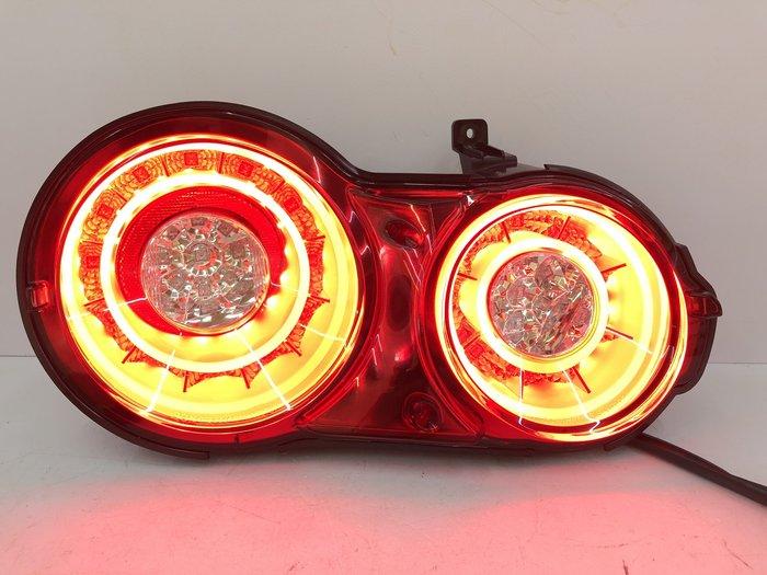 【炬霸科技】GTR R35 LED 導光 尾燈 後燈 改裝 SKYLINE 07-17年 車燈 日產 圓燈