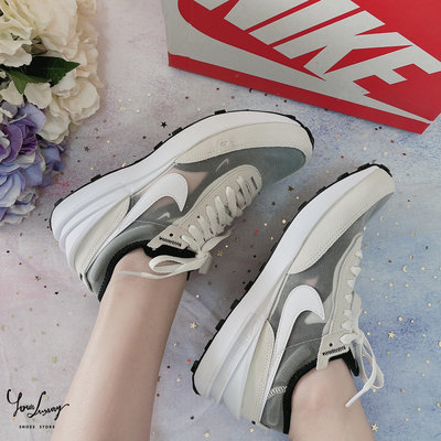 "【Luxury】Nike Waffle One ""Summit White"" 灰白 Sacai平民版 小Sacai"