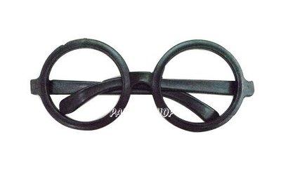 J78【派對樂】萬聖節裝扮衣/聖誕節舞會變裝派對/哈利波特眼鏡_黑框眼鏡