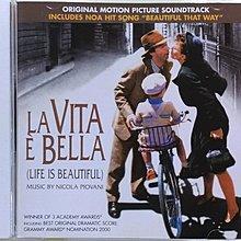 《絕版專賣》美麗人生 / La Vita E Bell 電影原聲帶 (歐版)