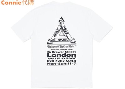 Connie代購 Palace Skateboards 19SS Grand Master 短袖 Tee