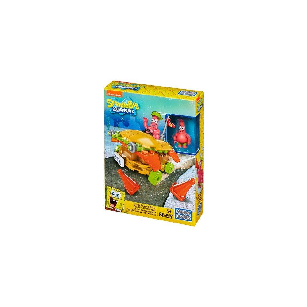 好好玩樂高 MEGA 美高 積木 海綿寶寶系列 海陸大出擊 賽車積木組 可與樂高相容 38034 派大星 美味蟹堡車