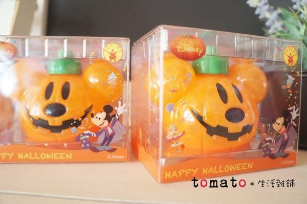 ˙TOMATO生活雜鋪˙日本進口雜貨萬聖節限定迪士尼米奇南瓜造型除臭芳香小燈