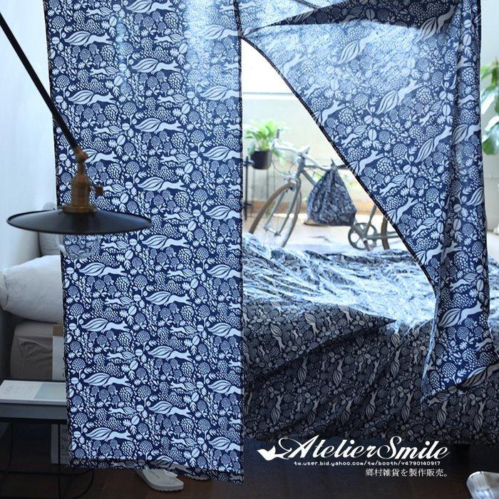 [ Atelier Smile ]  鄉村雜貨  和風開運系 純棉 日式風水簾 窗簾 日式兩片式 門簾 # L