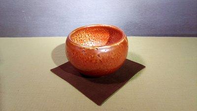 (店舖不續租清倉大拍賣)簡銘炤先生--柴燒上釉茶碗,原價28000元特價14000元