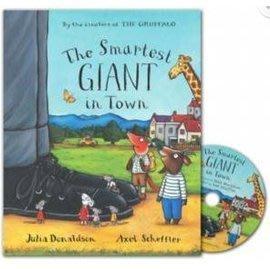 *小P書樂園* 【得獎繪本】The Smartest Giant in Town 城裡的大巨人(CD有聲書)