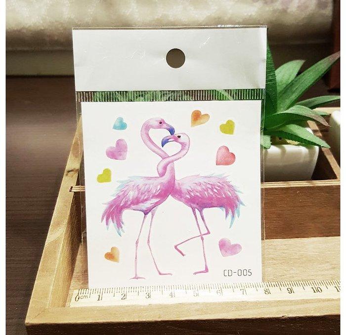 【萌古屋】火鶴CD-005 - 防水紋身貼紙刺青貼紙K12