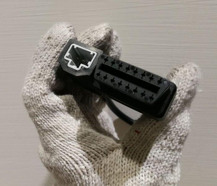 【藍牛冷光】HONDA 本田 專用 OBD 轉接線 接頭 插座 K6 K7 K8 K9 電腦診斷