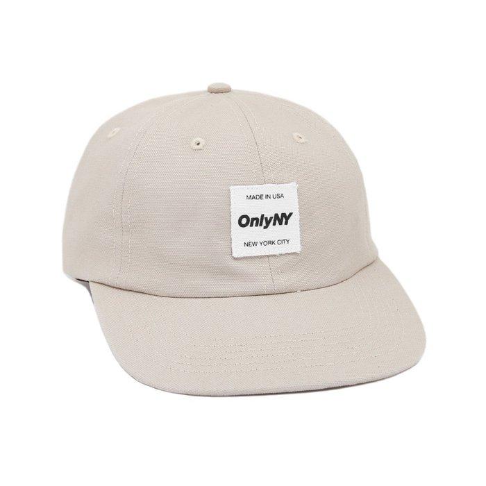 { POISON } ONLY NY MESSENGER POLO HAT 經典款帆布棒球帽 美國製 骨白