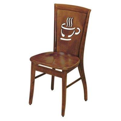 【DA289-15】柚木咖啡杯餐椅