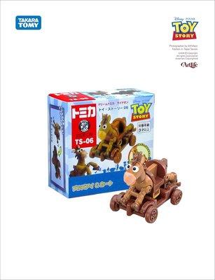 Artlife @ TAKARA PIXAR ライドオン トイ・ストーリー TS06 Bullseye 玩具總動員 紅心