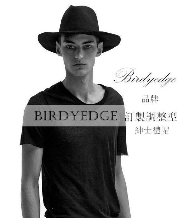 BIRDYEDGE 品牌  紳士帽 大帽沿 禮帽 男 羊尼帽