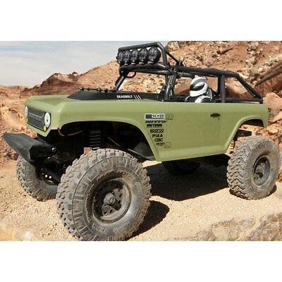新色登場 第二代  Axial SCX10 II Deadbolt 4WD RTR AX90066 攀岩車