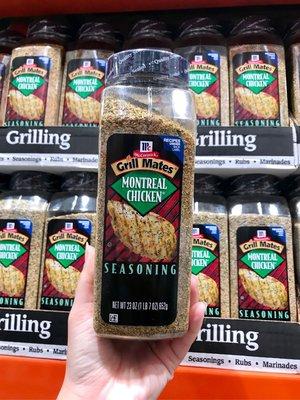 Costco好市多 MCCORMICK 味好美 蒙特婁口味雞肉調味料 652g Grill Mates Grilling