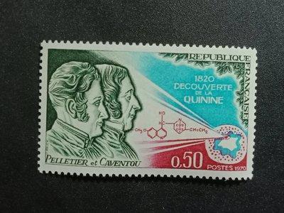 【 亂世奇蹟 】1970年 法國 奎寧發現150週年1全_4685