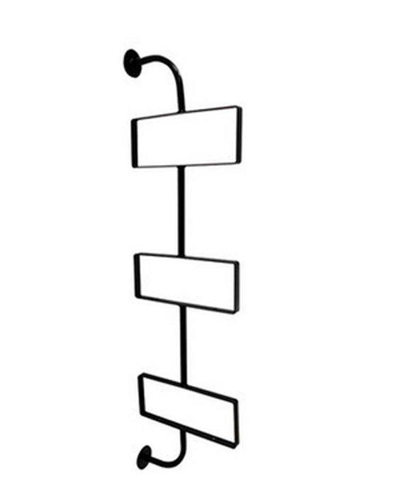 一字隔板架鐵藝 (三層) 水管書架 【奇滿來】實木置物架 美式復古 創意隔板 裝飾壁掛支架 書架 家俱 鐵藝支架AVBG