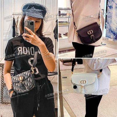 奇奇正品Dior/迪奧女包老花Bobby馬鞍包帆布翻蓋CD鎖扣單肩斜挎包