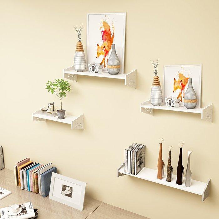 hello小店-免打孔墻上置物架客廳臥室壁掛裝飾花架子電視墻一字擱板隔板書架#增高器#底部支架#顯示器增高#