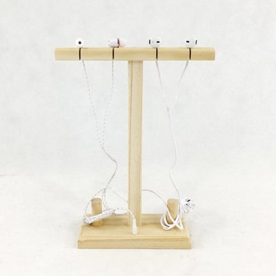 多用途耳機架實木創意耳機展示架藍牙木質耳塞架展廳展架