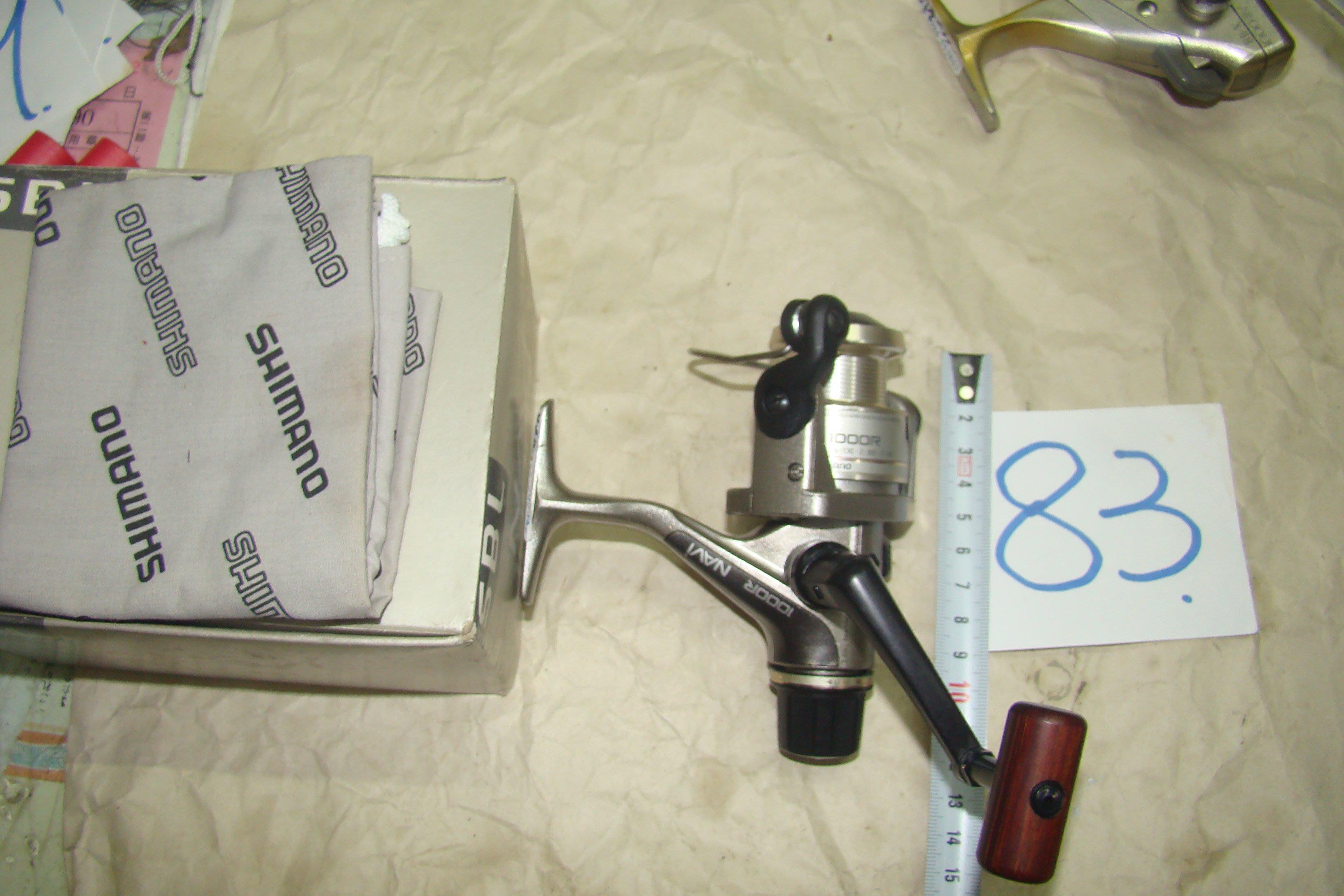 采潔日本二手外匯釣具 SHIMANO 1000型 二手釣竿 二手  捲線器  二手釣具中古 二手編號K83