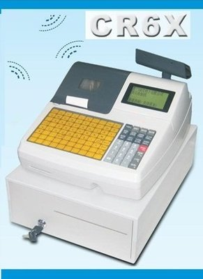 永綻*頂尖ACLAS  CR6X電子發票收銀機(按鍵式) 電子發票機( 保固一年)送感熱電子發票紙57*80*12mm