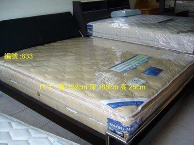 硬式袋裝獨立筒床墊(台北地區免運費)