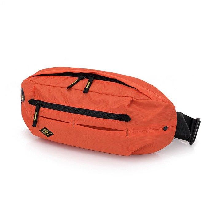 FK0816OG 時尚腰包.胸包.側背包橘色