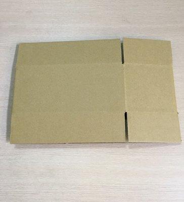 一般三層B浪紙箱外徑尺寸約長26x寬17x高7公分 彰化縣