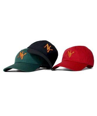 { POISON } LAFAYETTE NY PIZZERIA DAD HAT 紐約披薩刺繡 彎沿老帽