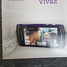 Sony Ericsson Vivaz (U5i) Fullset全套(黑色)90%