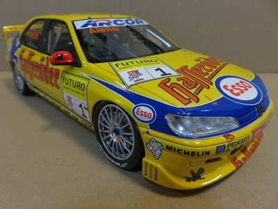 =Mr. MONK= OTTO Peugeot 406 Super Tourenwagen Cup 1997
