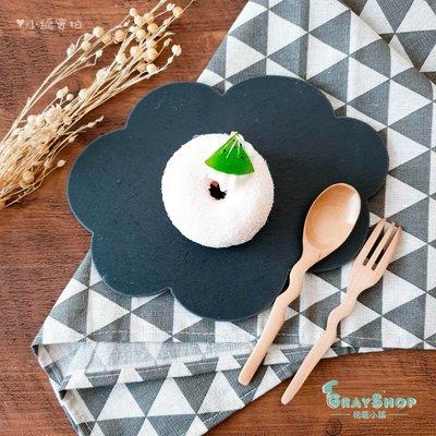 天然岩石板(雲朵) 《GrayShop》壽司盤 岩石盤 餐盤 擺盤 飾品美食攝影道具 拍照道具 中國風 餐盤