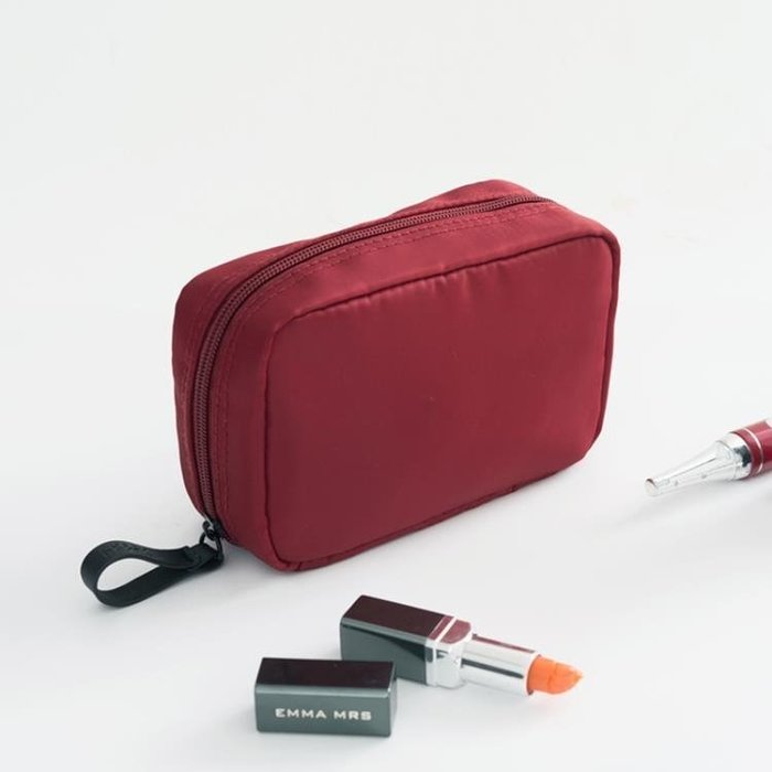 現貨/旅行化妝包韓國小號便攜女化妝袋手拿大容量簡約隨身化妝品收納包133SP5RL/ 最低促銷價