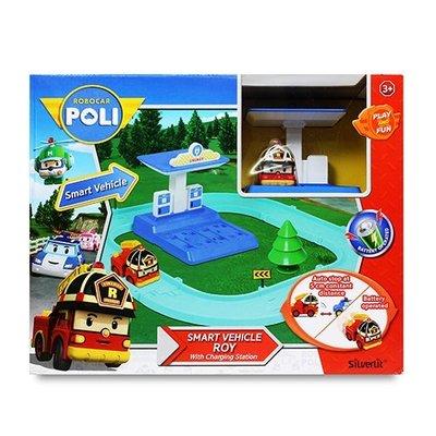 POLI波力 羅伊電動車與充電站遊戲