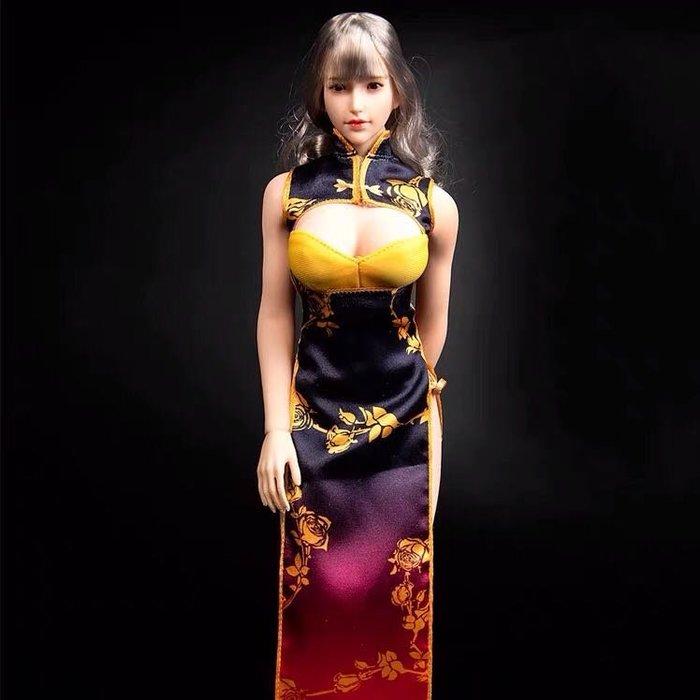 James room#12寸女兵人 天藝美  TYM062  1/6 比例  兵人 幻想金瓶 cosplay旗袍 不含人偶
