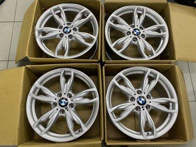 中古鋁圈 二手鋁圈 BMW F22 18吋鋁圈 5孔120 銀色 M POWER 前後配 F20 125I 135I