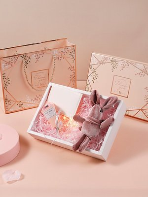 精美韓版空盒禮盒ins創意少女心生日禮物盒香水口紅包裝盒禮品盒#禮品盒#包裝盒#創意#禮物盒