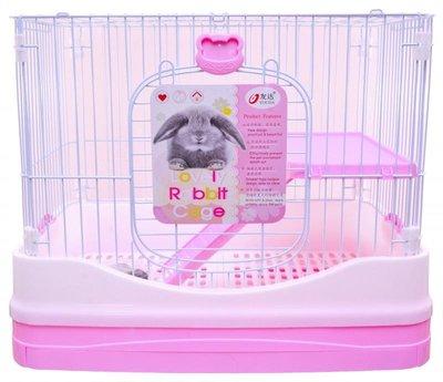 【台灣現貨】優米卡豪華兔籠(單層)-附輪子 給兔兔一個美好的家