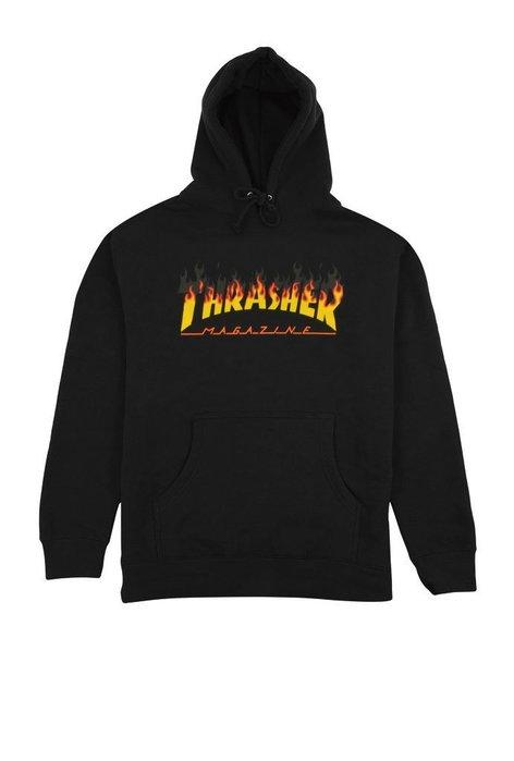 【HOPES】THRASHER BBQ HOOD 帽T-BLACK