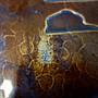 『華寶軒』日本茶道具 大正時期 廣陵久芳堂造 銅蟲 手打鎚目紋 圓形 大茶盤