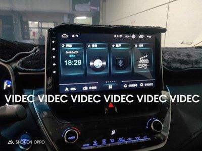 巨城汽車精品 豐田 19 TOYOTA ALTIS 12代 安卓機 10.1吋 多媒體導航 主控面板 手機同步