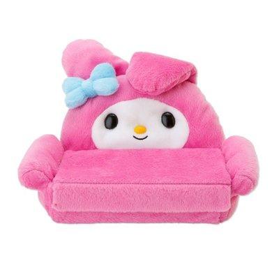 *凱西小舖*日本進口三麗歐正版MELODY美樂蒂造型沙發眼鏡盒/收納盒