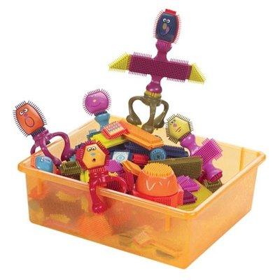 [小文的家] 【B.Toys】刷子積木(瘋狂組) 72pcs (布萊斯特鬃毛積木)  [免運]
