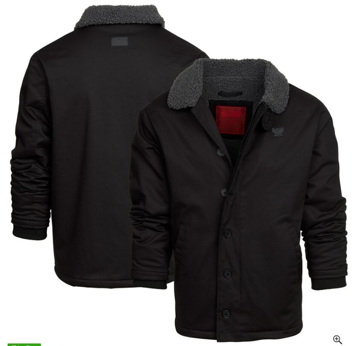 【丹】BZN_Diablo Traveler Sherpa Collar Full-Zip 暗黑破壞神 拉鍊 外套